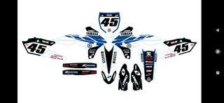 Yamaha wrf 450 16/18, wrf 250 15/18, yz 250/450 14