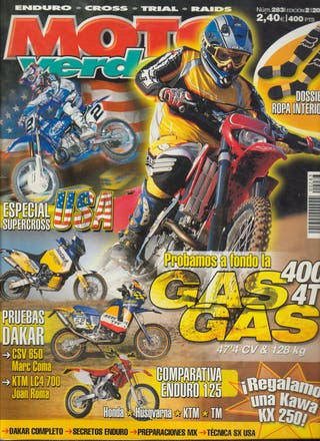 REVISTA MOTO VERDE Nº 283 - Año 2002
