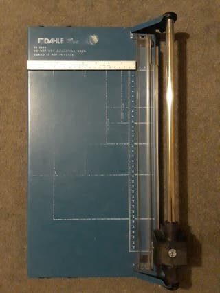 Dahle Guillotine Trimmer Roll And Schnitt