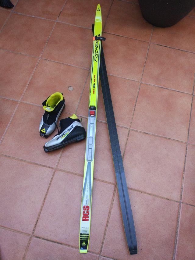 equipo esquí de fondo clásico para niño