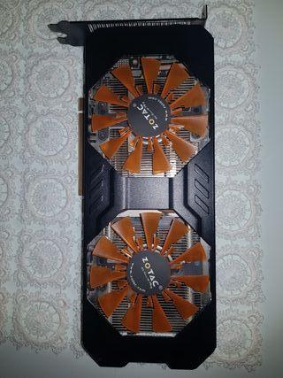 Tarjeta Gráfica GTX 760 (2GB a DDR5) Zotac