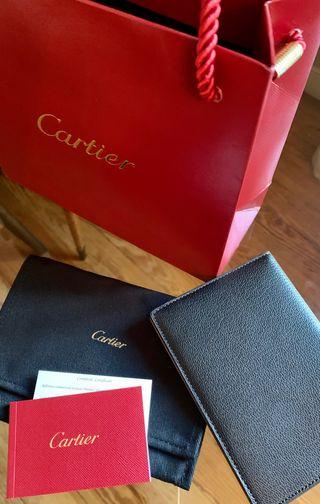 Cartier Cartera piel para Pasaporte