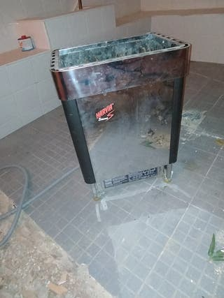 estufa de sauna