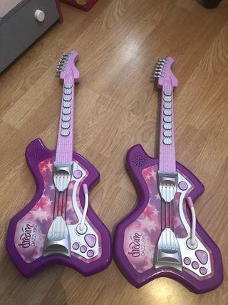 Guitarras con sonido