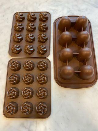 Molde silicona para bombones