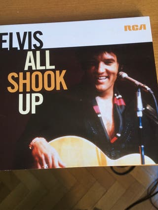 Cd de Elvis en directo 1969: All shook up