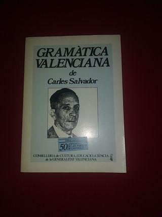 Gramática valenciana de Carles Salvador