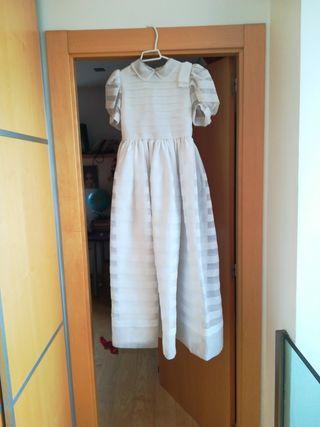 Vestido de comunión de autentico organdi