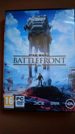 battle front. star wars. juego pc