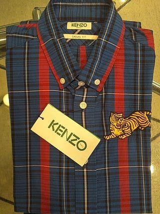 camisa cuadros Kenzo