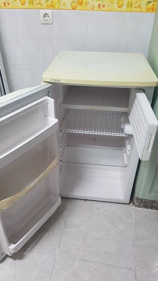 mini nevera y congelador