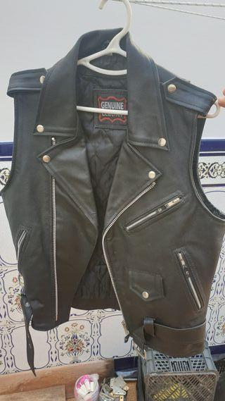 Chaleco Cuero Custom