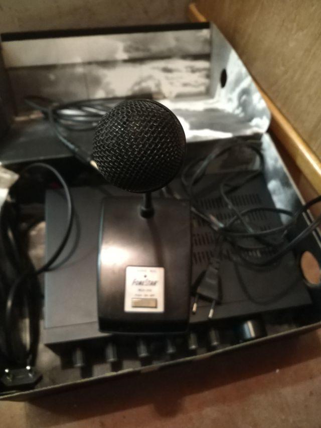Amplificador de megafonía