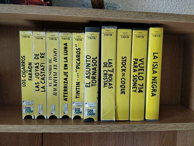 VHS Tintín