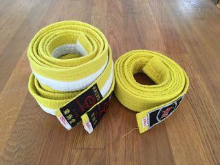 2 Kimonos Judo+3 cinturones