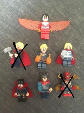 Figuras lego Marvel