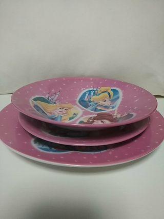Juego de platos infantil