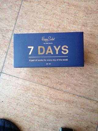 Happy Socks 7 days talla 36-40 Precintado