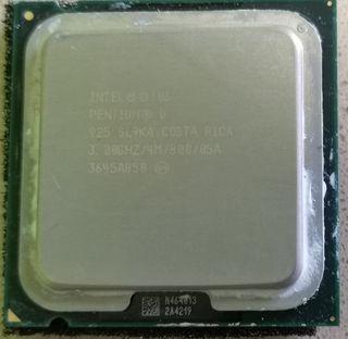 procesador Intel pentium D 925