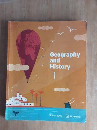 Libro texto Geografia e Historia en ingles 1 eso