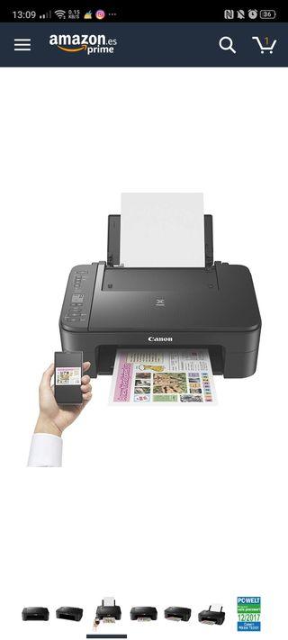 Impresora Multifuncional Canon PIXMA TS3150 Negra