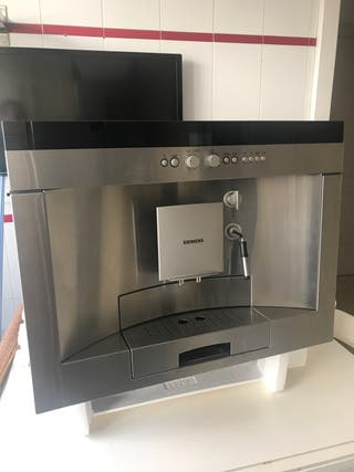 Cafetera integrable Siemens TK68E