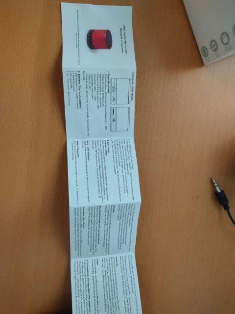 5 ALTAVOCES BLUETOOTH X 5€ (EL LOTE 5€)