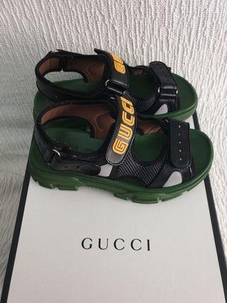 Gucci original piel y neopreno
