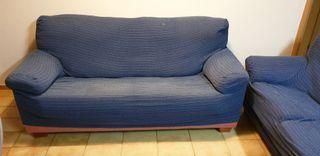 Sofa de dos plazas + fundas de regalo