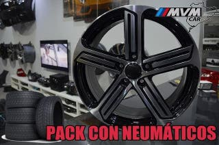 REF::L7830 Llantas 18 con Neumaticos PARA VW GOLF