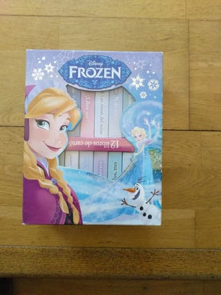 Mini libros de frozen