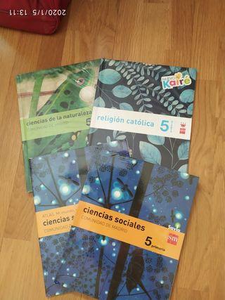 Libros quinto primaria SM