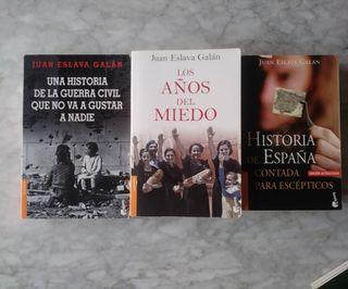 Libros de historia por Juan Eslava Galán. (Todos)