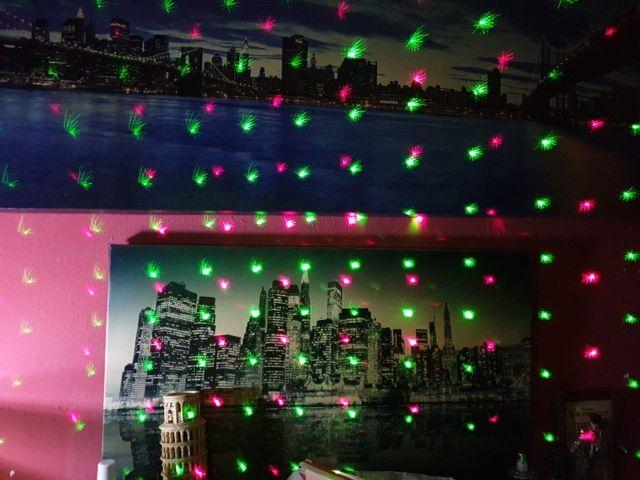 Proyector Laser Puntos Multicolor