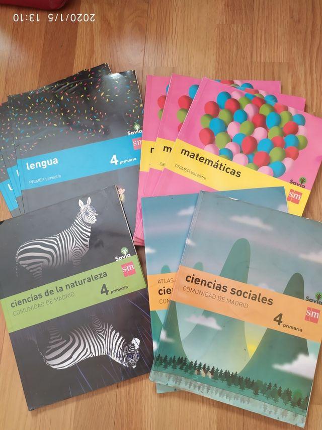 Libros cuarto primaria SM