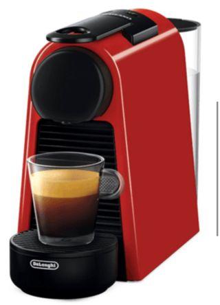 Cafetera Nespresso Roja