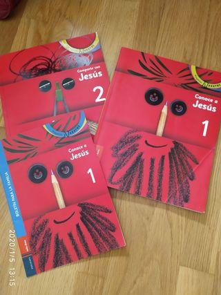 Libros religión proyecto Nazaret