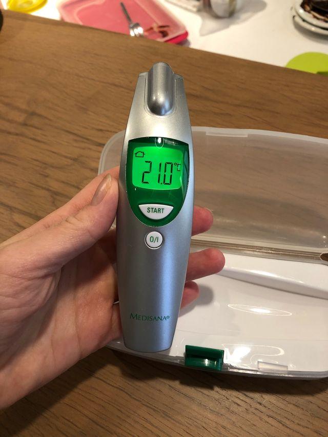 Medisana termometro digital infrarojos bebes