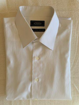 Camisa blanca TRADITIONAL RUSHMORE hombre