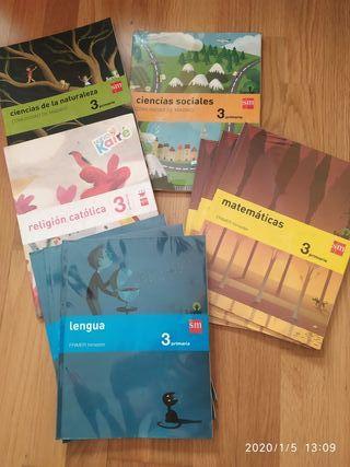 Libros tercero primaria SM