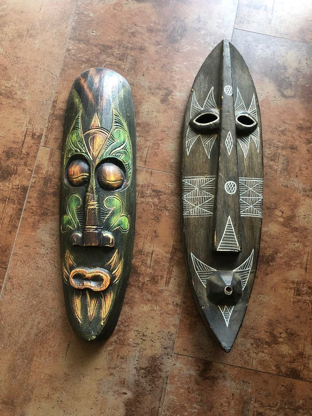 Decoración máscaras
