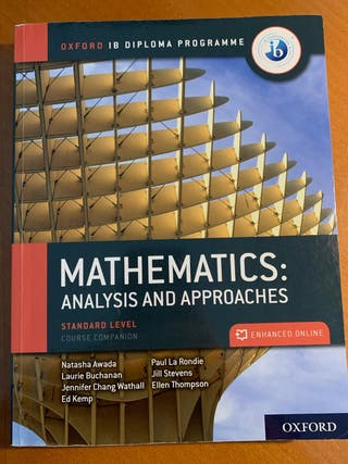 Libro matemáticas IB bachillerato NUEVO