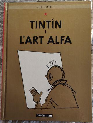 Tintin i l'art alfa