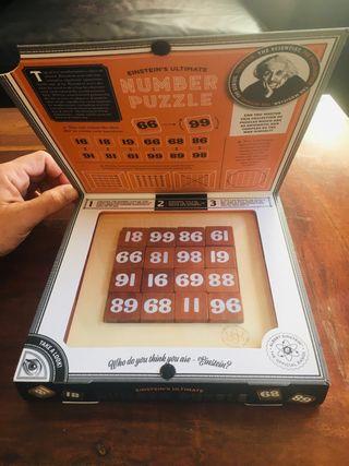 Juego number puzzle Einstein NUEVO