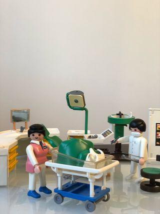 Lote Dentista + Escuela + Niñera de Playmobil