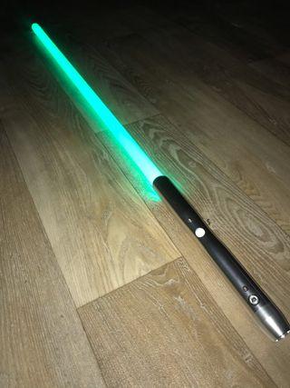 Star Wars lightsaber cosplay