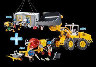 Playmobil Construcción 6598 + 9843 + 6339