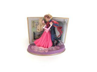 Figura adorno navidad Aurora rosa Disney