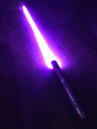 Star Wars lightsaber cosplay