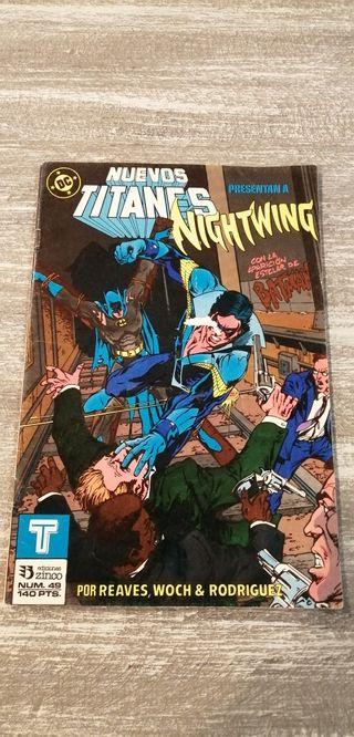 Nuevos Titanes Batman Zinco 1987